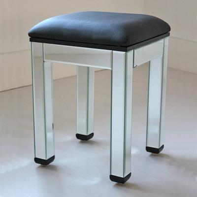 Mirrored Dressing Table Stool image 3