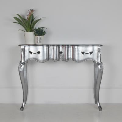 Ripple French-Style Three Drawer Console or Dressing Table image 16