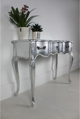 Ripple French-Style Three Drawer Console or Dressing Table image 18