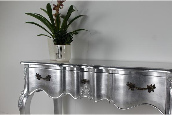 Ripple French-Style Three Drawer Console or Dressing Table image 19