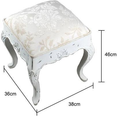 Ripple Dressing Table Stool image 5