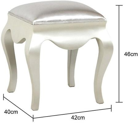 Curvy Dressing Table Stool image 5