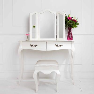 Curvy French Dressing Table Stool image 5