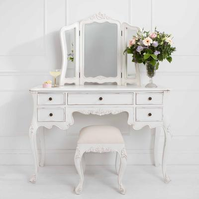 Classic French Dressing Table Stool image 3