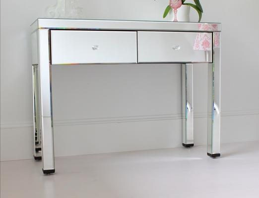 Mirrored Dressing Table with Bronze Glass image 4
