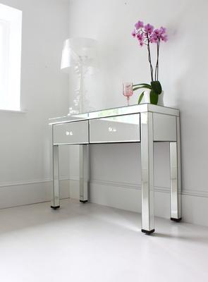 Mirrored Dressing Table with Bronze Glass image 5