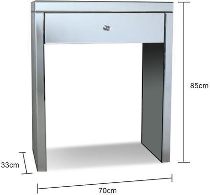 Mini Mirrored Dressing Table image 2