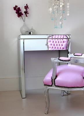 Mini Mirrored Dressing Table image 5