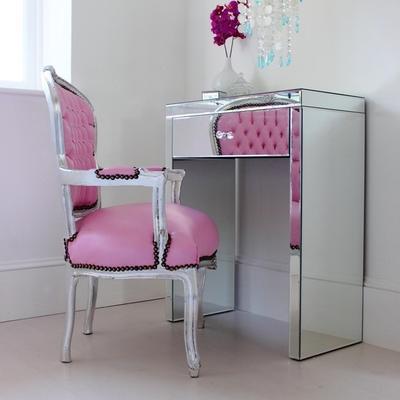 Mini Mirrored Dressing Table