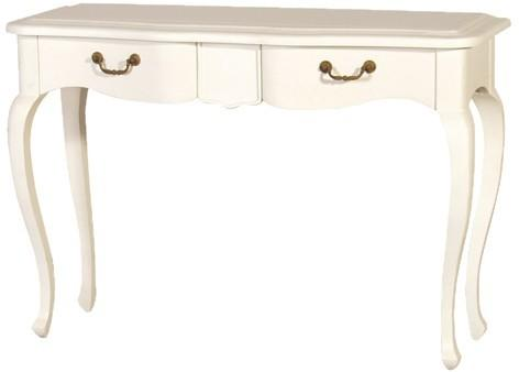 Simple French Dressing Table - Light Grey or Cream