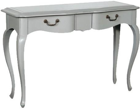 Simple French Dressing Table - Light Grey or Cream image 3