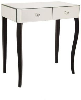 Mirrored Two Drawer Dressing Table