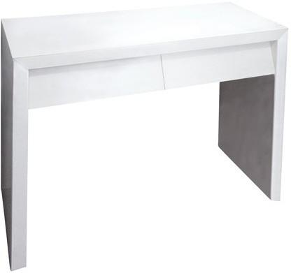Angled Dressing Table in White image 2