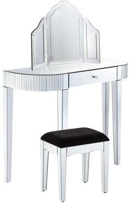 Bevel Edged Dressing Table Set image 2