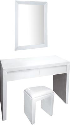 Angled Drawer Dressing Table Set
