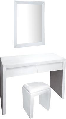 Angled Drawer Dressing Table Set