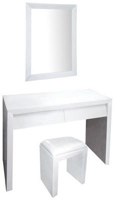 Angled Drawer Dressing Table Set image 2