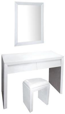 Angled Drawer Dressing Table Set image 2