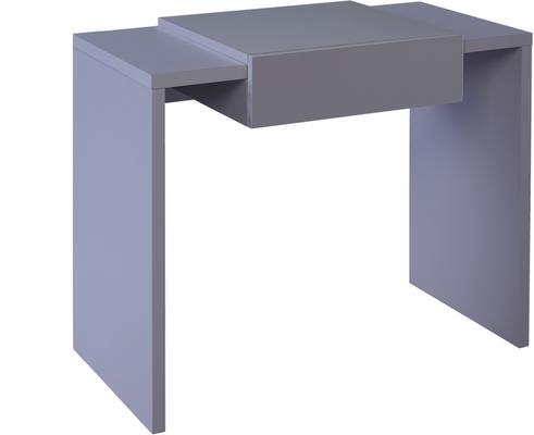 Marlow Modern Dressing Table - Matt Stone Lacquer image 3
