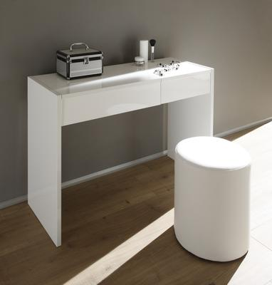 Ponte Dressing Table - High Gloss White Lacquer image 2
