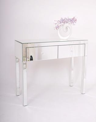 Two Drawer Mirrored Dressing Table