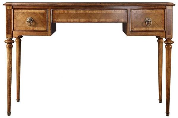 Spire Antiqued Solid Wood Dressing Table