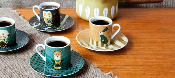 Wildlife Dusk Espresso Set
