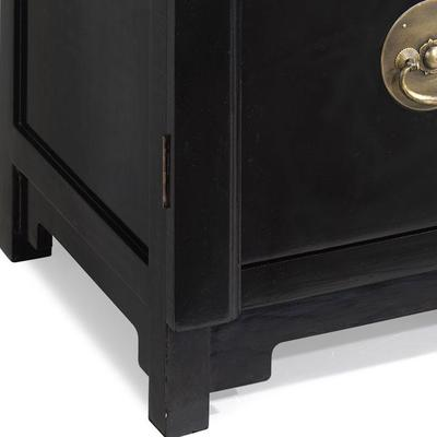 Two Drawer Filing Cabinet, Black Lacquer image 4