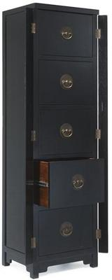 Filing Cabinet, Black Lacquer image 2
