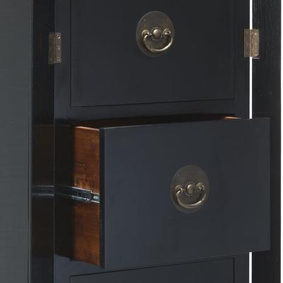 Filing Cabinet, Black Lacquer image 3