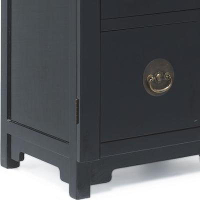 Filing Cabinet, Black Lacquer image 4