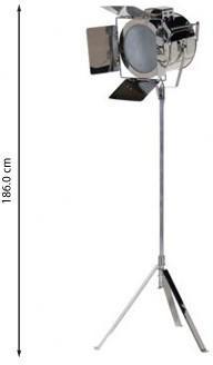 Chrome Spotlight Floor Lamp Modern Design image 2