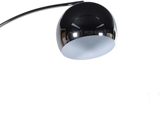 Curvy Silver Floor Lamp image 2