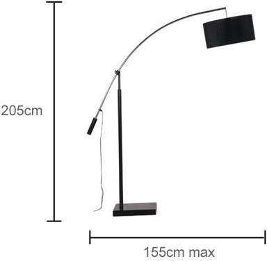 Modern Extended Arm Floor Lamp image 2