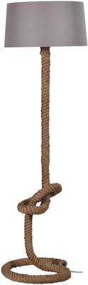 Knotted Rope Floor Lamp