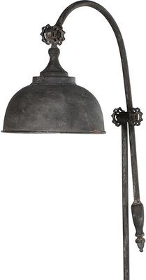 Industrial Metal Arch Floor Lamp Distressed Finish image 3