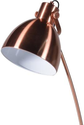 Desk-Style Floor Lamp Retro Polished Metal image 6