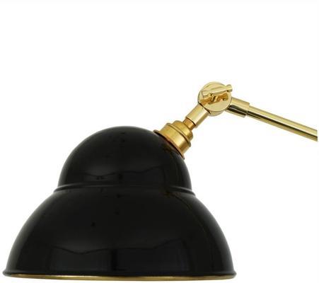 Sliema Modern Floor Lamp Adjustable Black and Brass image 5