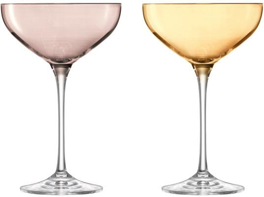 LSA Polka Champagne Saucers - Metallic - Set of 4 image 3