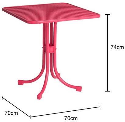 Portofino Metal Mesh Garden Bistro Table image 2