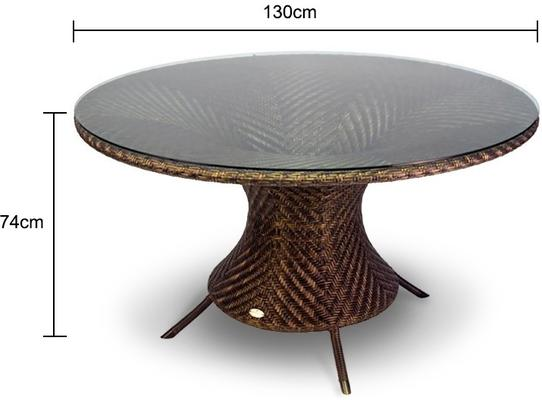 Ohanna Ocean Wave Outdoor Table image 2