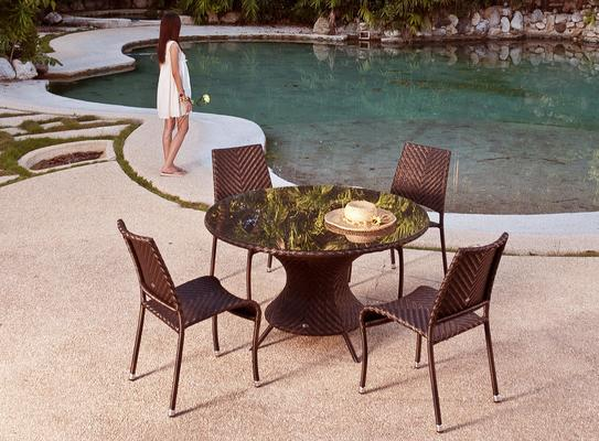 Ohanna Ocean Wave Outdoor Table image 4