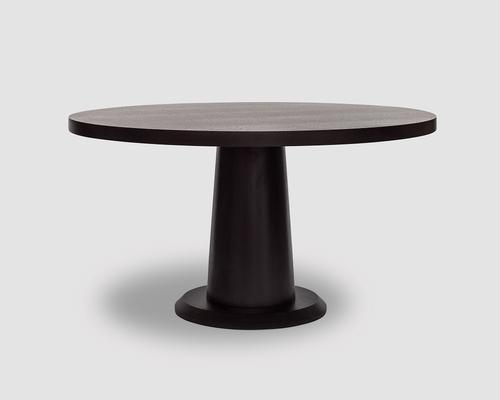 Ancora Wenge Oak Round Dinner Table