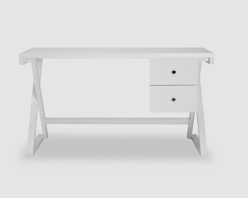 Alpha Desk - Taupe High Gloss image 4