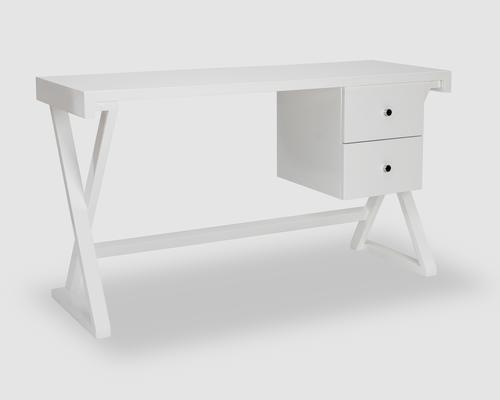 Alpha Desk - Taupe High Gloss image 5