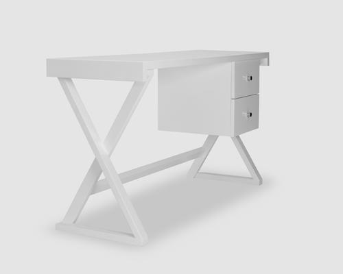 Alpha Desk - Taupe High Gloss image 6