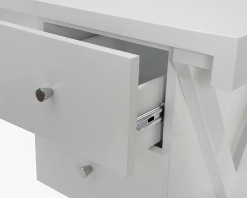 Alpha Desk - Taupe High Gloss image 8