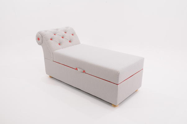 Victorian Ottoman Box / Daybed image 2