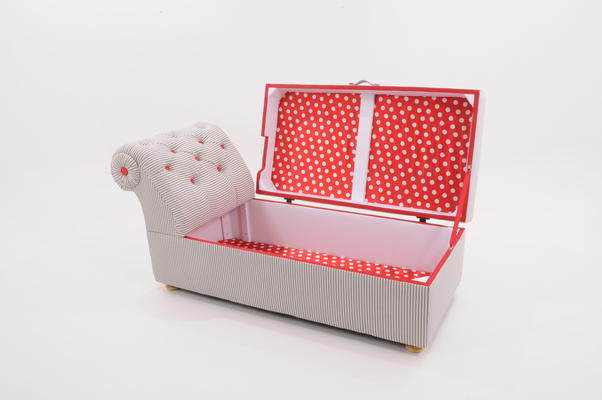 Victorian Ottoman Box / Daybed image 3