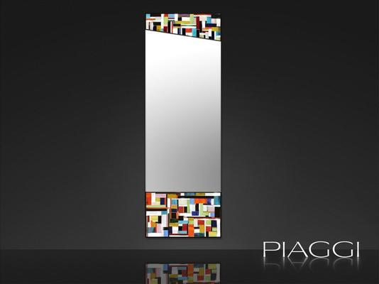 Disco PIAGGI glass mosaic mirror image 2